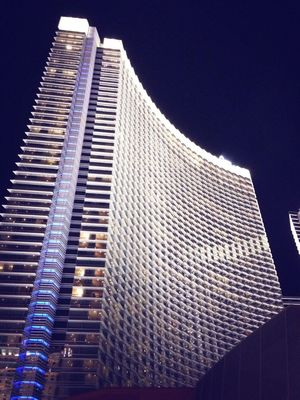 Hanging out at ARIA Resort & Casino by Bob Van Dusen