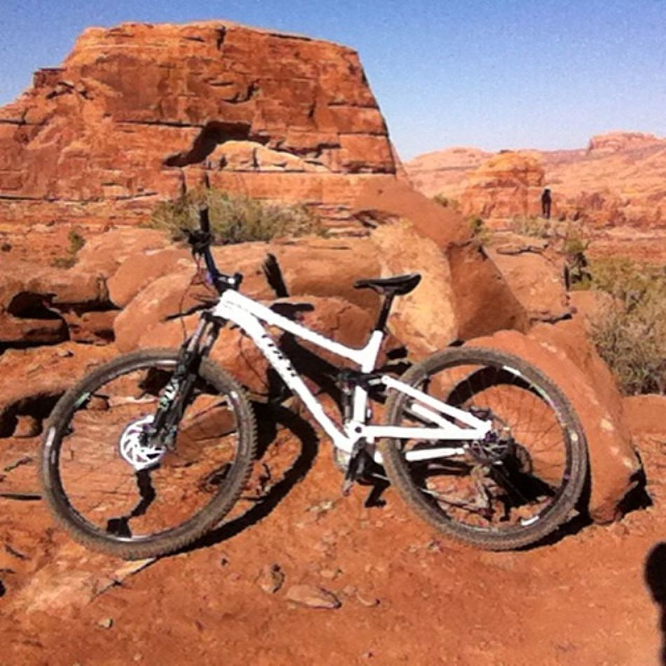 Already missing the desert. Must ride again. Trekbikes Fuelex8 Moaborbust Mountainbike