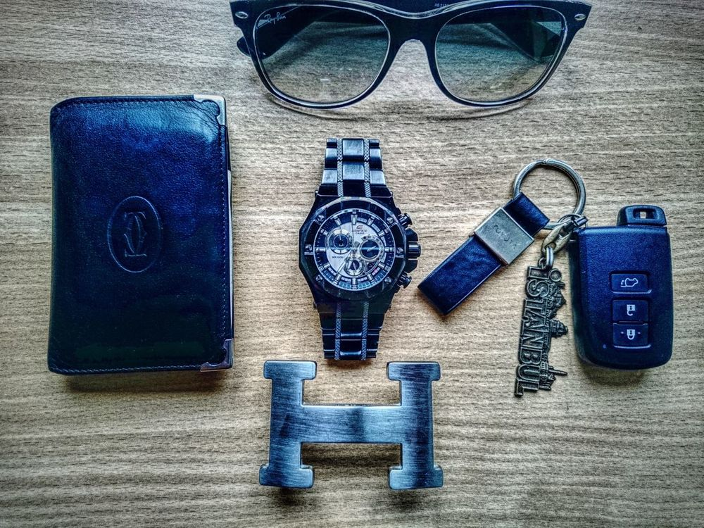 Cartier Rayban Sunglasses Hermes Watch Carkeys Istambul Car