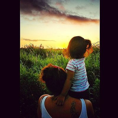 Watching God's painting ;-) @choch00 Alaina33013 Godscon3 Kanakamaoli HiLife lanaimobetta sunset malamaaina aloha hawaiianhomes