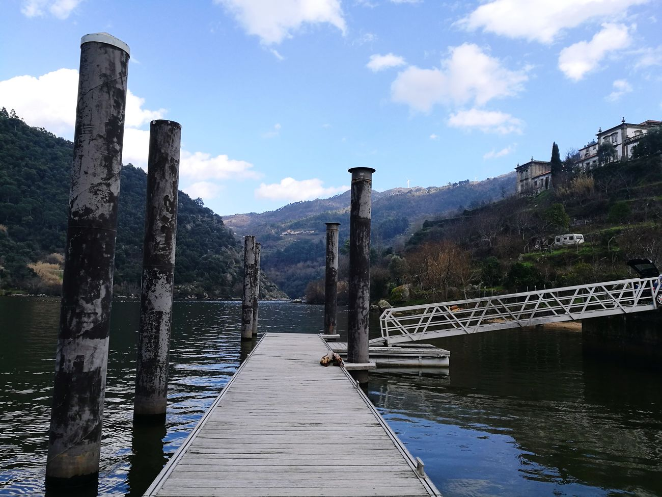 No People Bridge - Man Made Structure Day Relaxing Douro