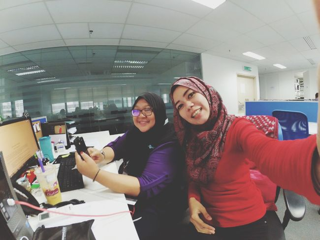 THESE Are My Friends my9to6people... Friends nahh more to sisters.. Friends That's Me Yicam Workplayeat