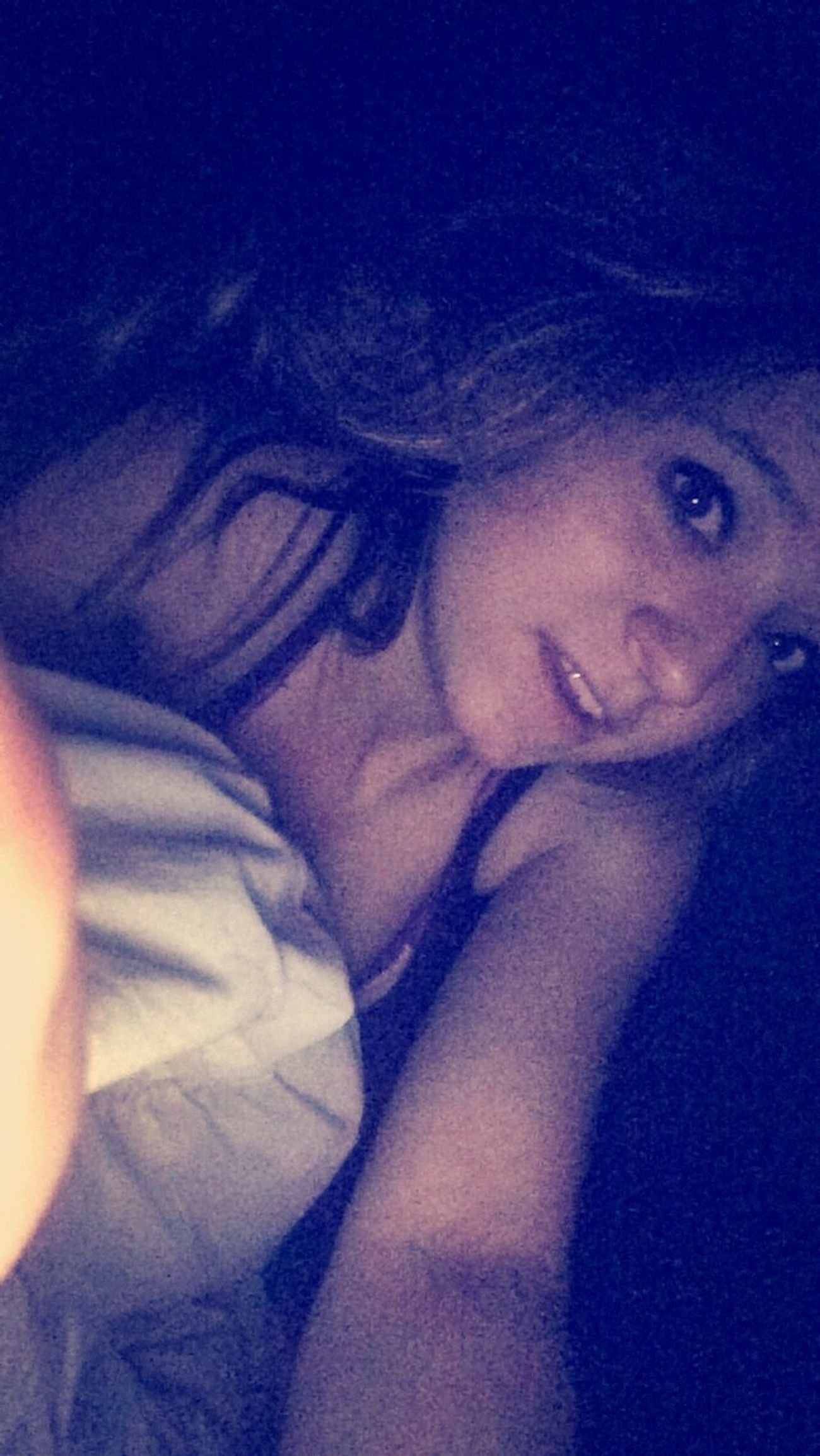 That night time selfie Goodnight ♡ ThatsMe Looking A Little Rough  Its Whatever