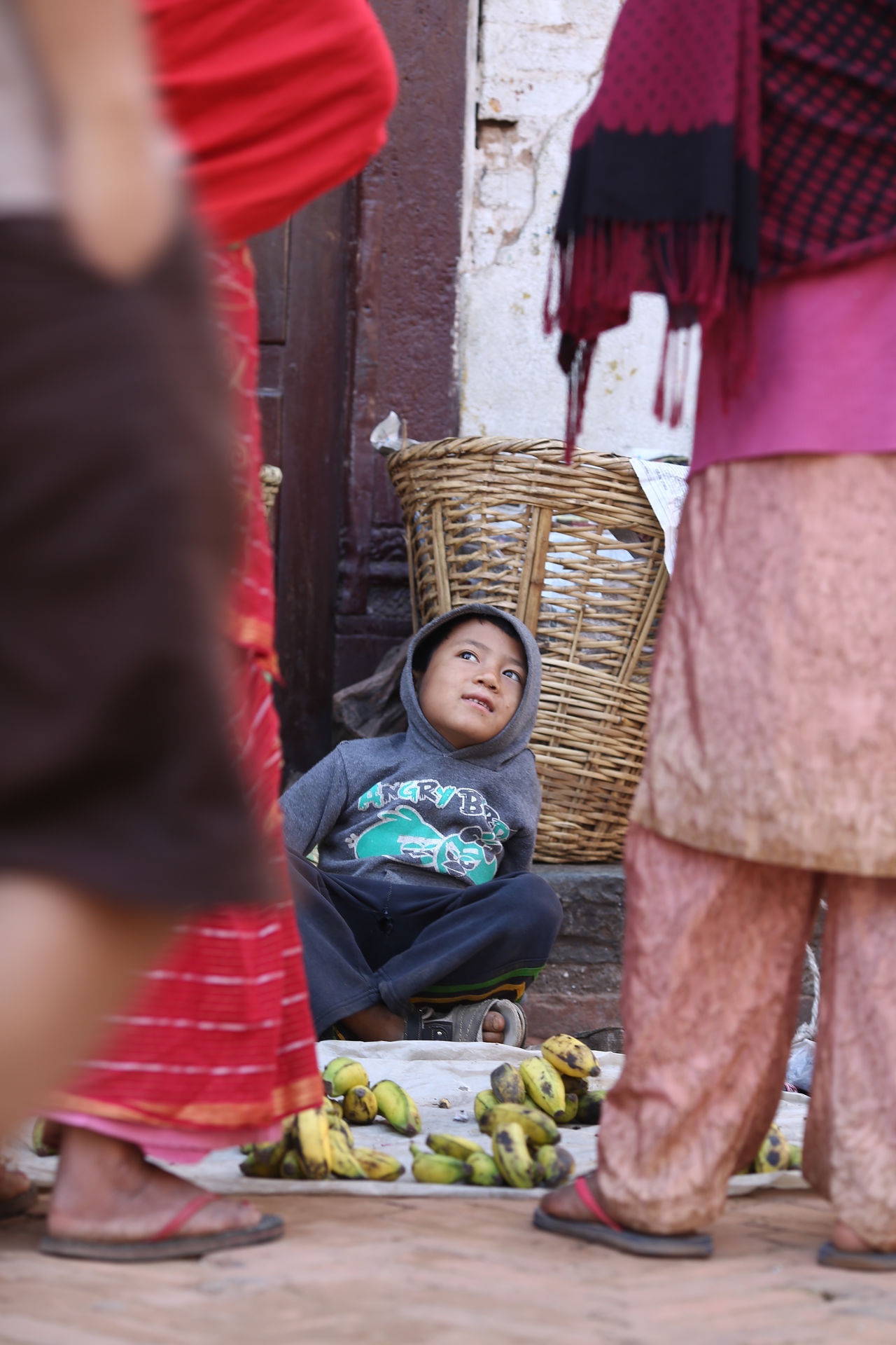 Youngest merchant Day Fruits Kid Merchant Nepal Outdoors Travel Youngest Merchant