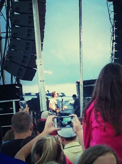 I saw Hunter Hayes <333 Himm <3  Hunter Hayes Hes So Cute