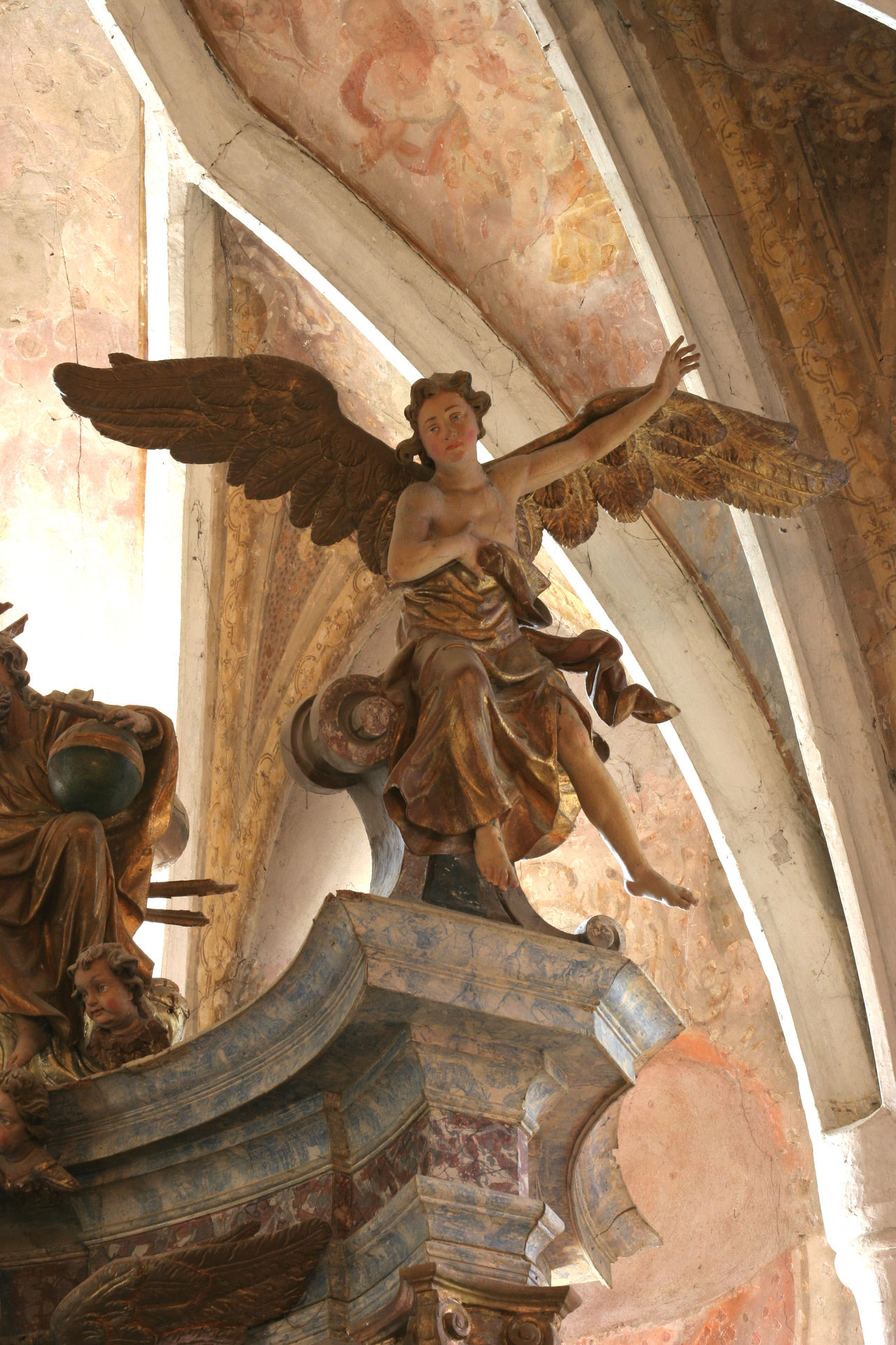 Angel Altar Angel Antique Art Belief Christianity .. Church Confession Croatia Europe Faith Gold Gospel Historical Holy Old Pray Religion Religious  Saint Sculpture Spirituality Statue Worship