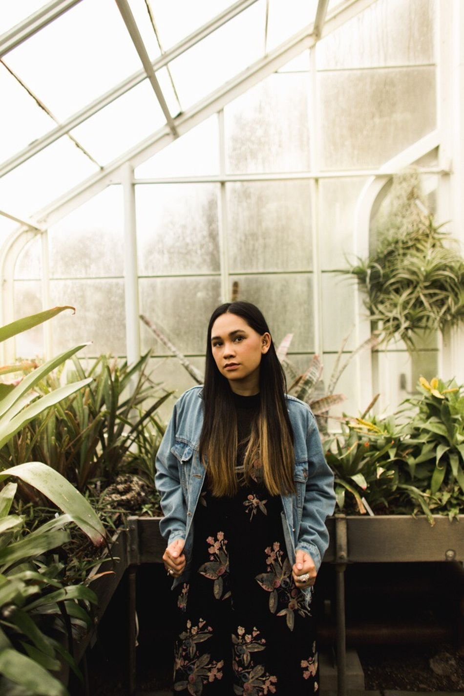 Portrait Indoors  Telling Stories Differently Travel Photography Seattle, Washington Seattle Greenhouse Share Your Adventure EyeEm Best Shots Photography Adventures Hair Model From My Point Of View