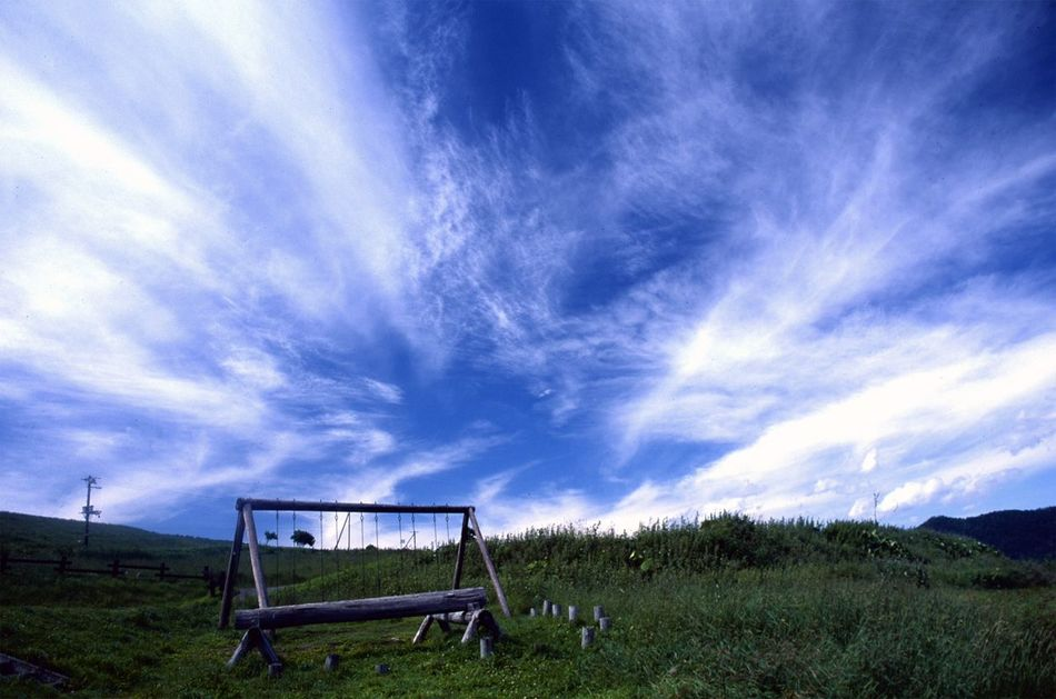 Under the summer sky. Hello World Traveling Travel Photography Landscape Sky Sky And Clouds Summer ☀ Film Farm Kamishihoro