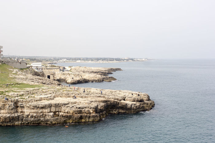 Apulien Europe Holiday Destination Italia Italy Landscape Mediterranean  Nature Ocean Outdoors Polignano A Mare Puglia Scenic Sea Seaside Seaside Town Tourism Travel Traveling Water Weekend Getaway