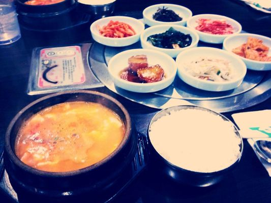 Korean food at Seoul Garden Yakiniku by Kim