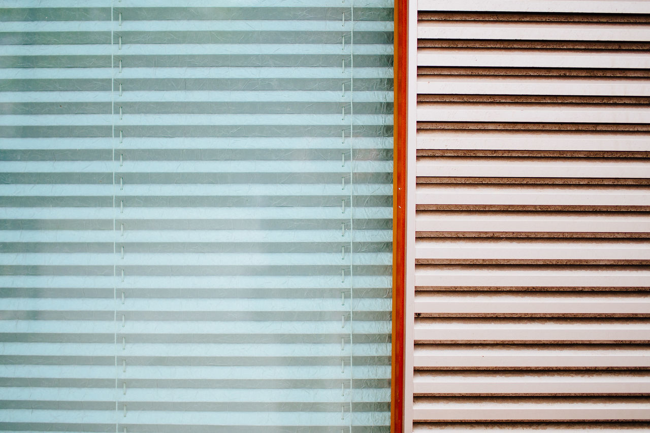 closed window Abstract Backgrounds Blinds Curtain Design EyeEm Best Shots From My Point Of View Geometry Getting Inspired Glass - Material Minimalism Minimalobsession Repetition Simplicity Striped Window Perfect Match Pastel Power