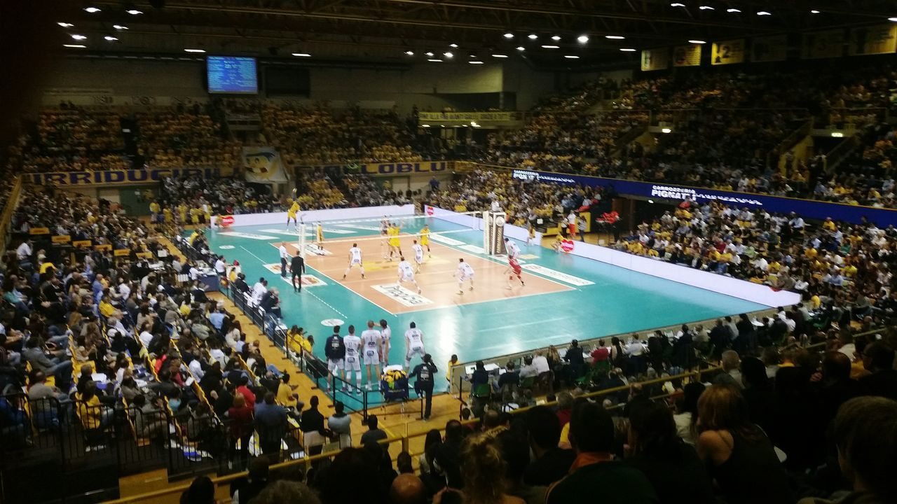 Best  Italian Volley Team Modena Dhl Scudetto 2016 Volleyball Player Palapanini Pieno Full Sport Sportlife