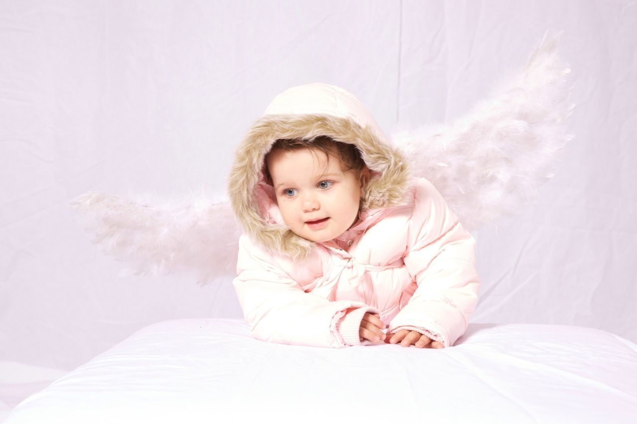 Two Year Old Child, like an Angel Child Studio Angel Portrait Portraits Portrait Photography Studio Shot Studio Photography Childhood Children Children Photography Angel Wings Girl Girls One Person White Background White Children Only Portraiture Children's Portraits Angels Christmastime Christmas Around The World Children Of The World Kid