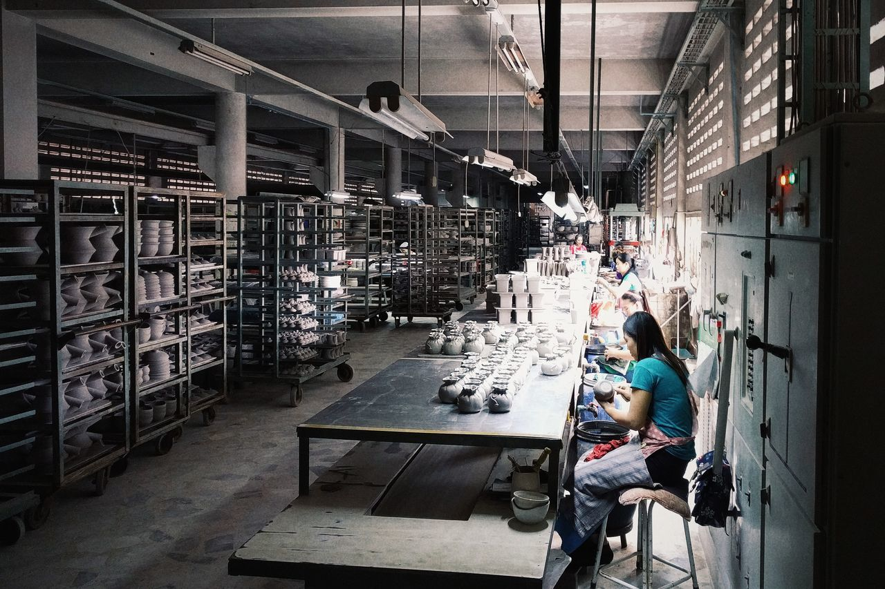 Indoors  Adult Day Real People People Men Architecture Factory Building Factory Factory Photo Factorywork Factory Zone Factory Workers Factorylife