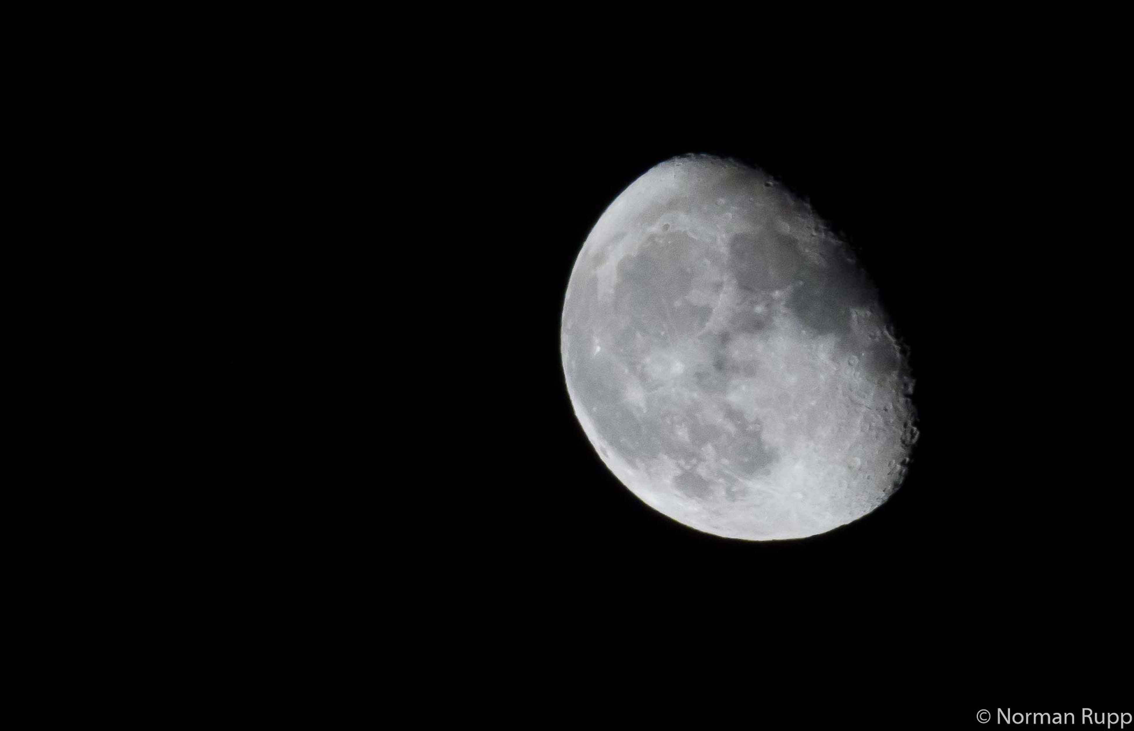 Moon Sky Stars Night Nightphotography Germany Hohenahr