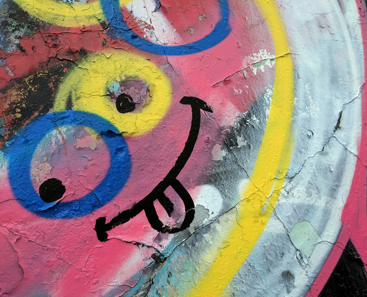 Colorful graffiti of a Smiling Face with tongue hanging out Abstract Close-up First Eyeem Photo Full Frame Fun Graffiti Graffiti Art Happy Multi Colored No People Painted Image Red Silly Face Silly Faces  Smile Smiling Textured  Tongue Out Urban UrbanART