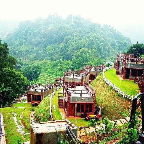 บ้านไอดิน ม่อนอิงดอย อ.แม่ริม จ.เชียงใหม่ บ้านไอดิน ม่อนอิงดอย แม่ริม เชียงใหม่ Location Chiangmai Thai Thailand Resort Shot Film Mountains Rain View