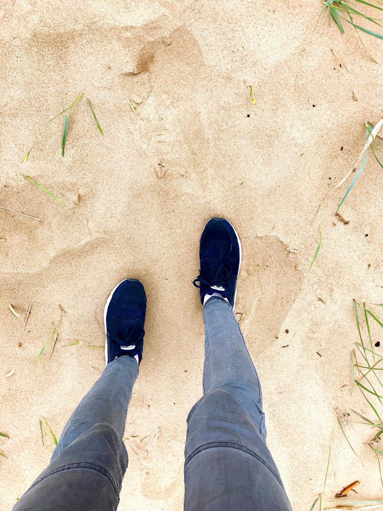 Shoe Standing Human Leg Low Section Personal Perspective Human Body Part Day One Person Outdoors Sand Adult People Adults Only Beach Beauty In Nature Minimalism Sandy Sandy Beach