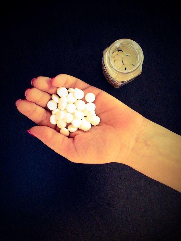 Health Black Pills Medicaments Medicine Healthy Disease Sick Vintage Hand