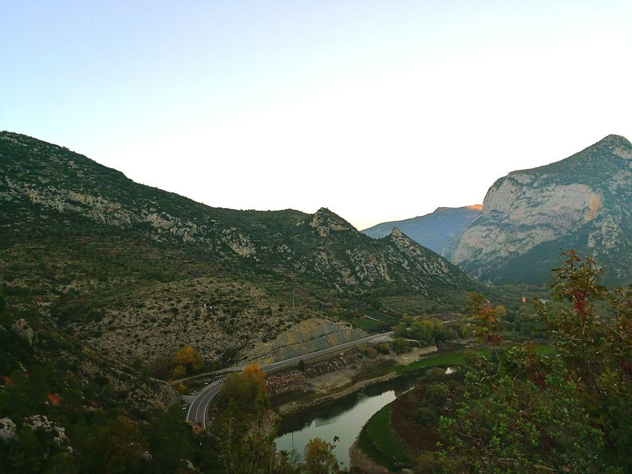 Lleida, Catalunya Nature Beauty In Nature Mountain Carretera Paisaje Paisajes Naturales Natural