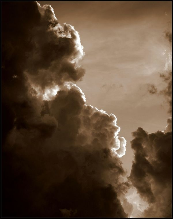 Clouds in the afternoon. Nature An Object Of Beauty. Creative Light And Shadow