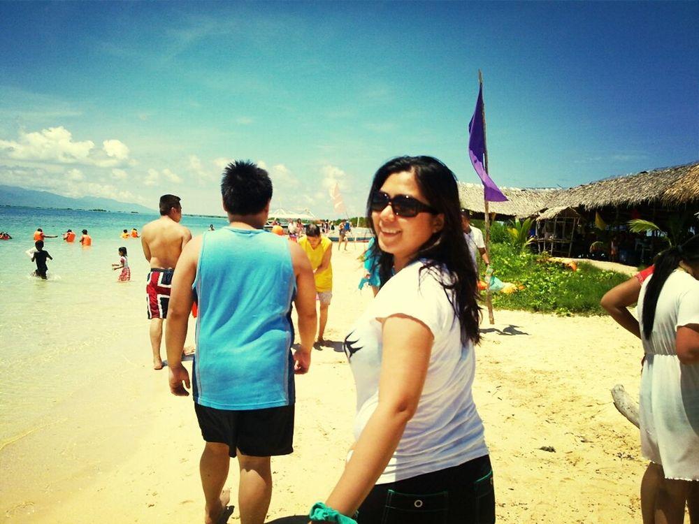 Beach Family Walks More Fun In The Philippines  Enjoying The Sun