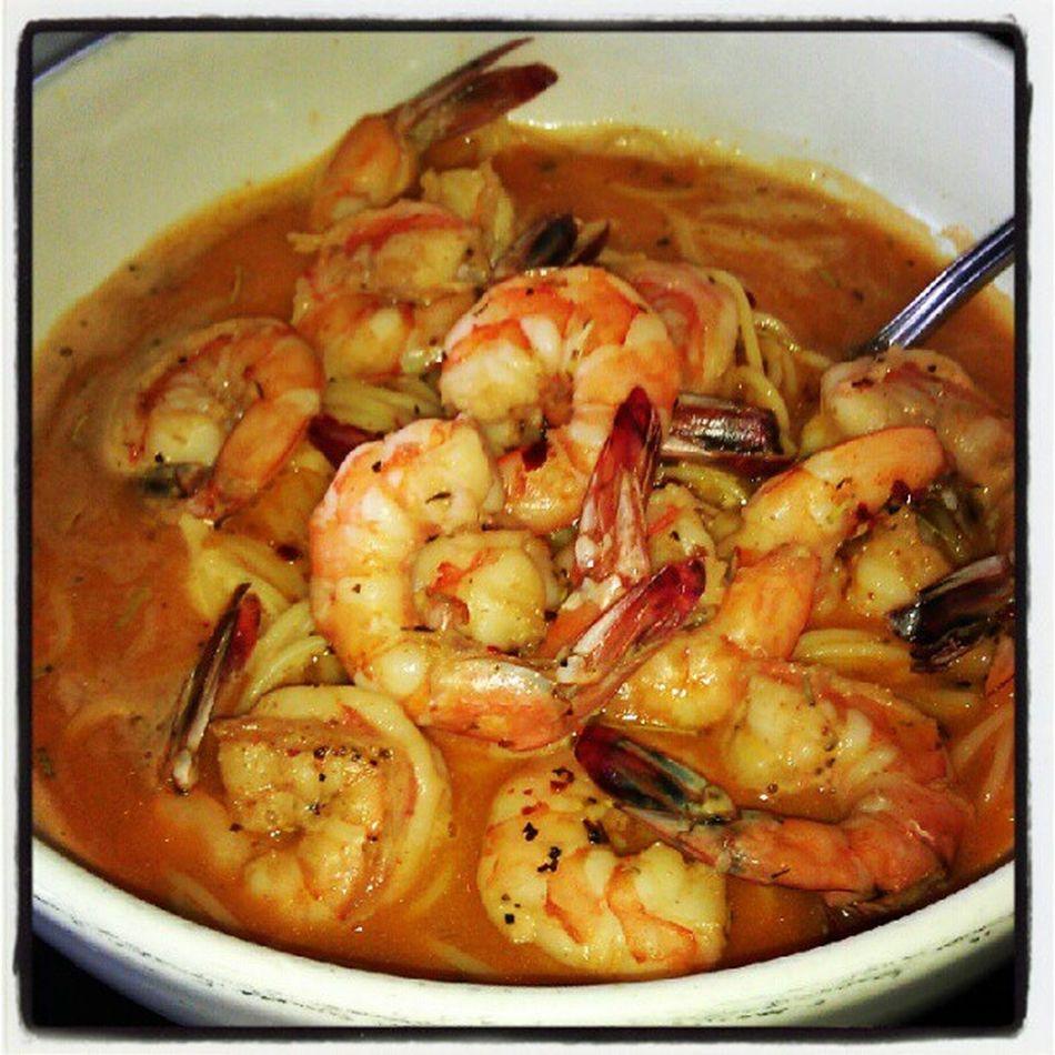 Bday dinner @ Killer Shrimp w/ the fam & my gf