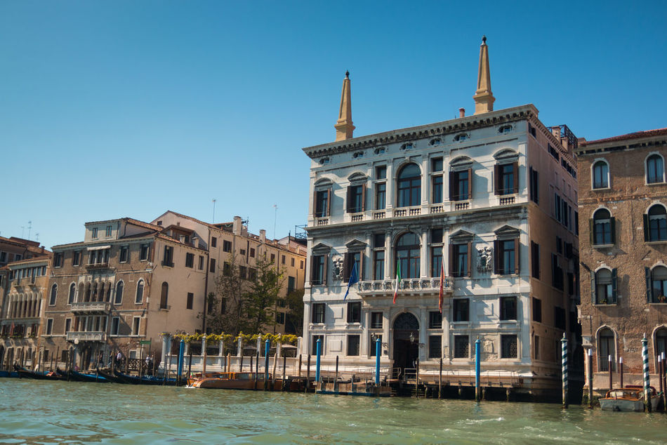 Architecture Building Exterior Built Structure Clear Sky Day Italy No People Outdoors Sky Travel Destinations Venice, Italy Water