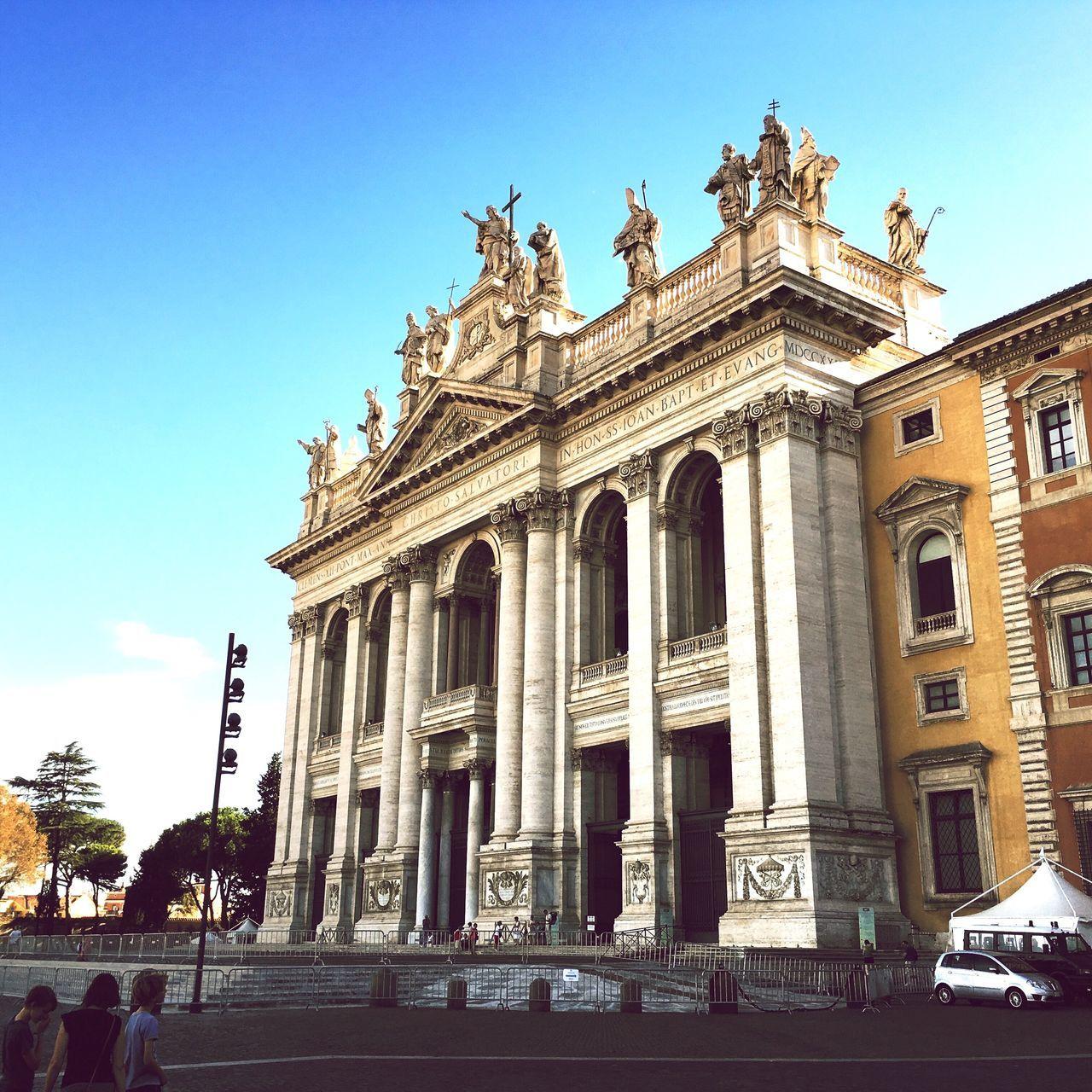 Mater Ecclesiae Architecture Art Capital Cities  Facades Famous Place Hisptamatic History Iphone6s IPhoneography Iphoneonly Mater Ecclesiae Rom Roma Rome Saint John Tourist