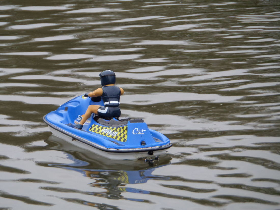 Blue Blue Toy Boat. Boat Boating Pond Close-up Day Fun Toy Model Boat On Pond. Lifestyles Model Boat Outdoors Remote Controlled Toy Boat. Rippled Selective Focus Toy Boat On Pond. Water