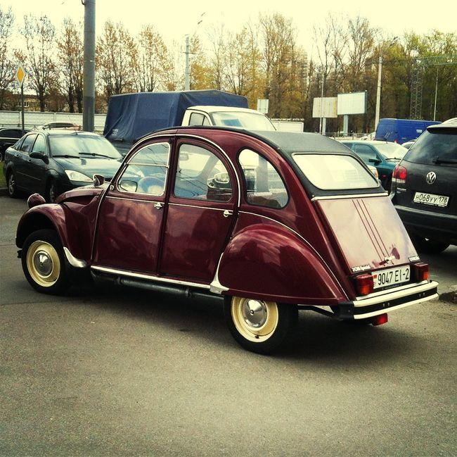Car Old Car Citroen Retro
