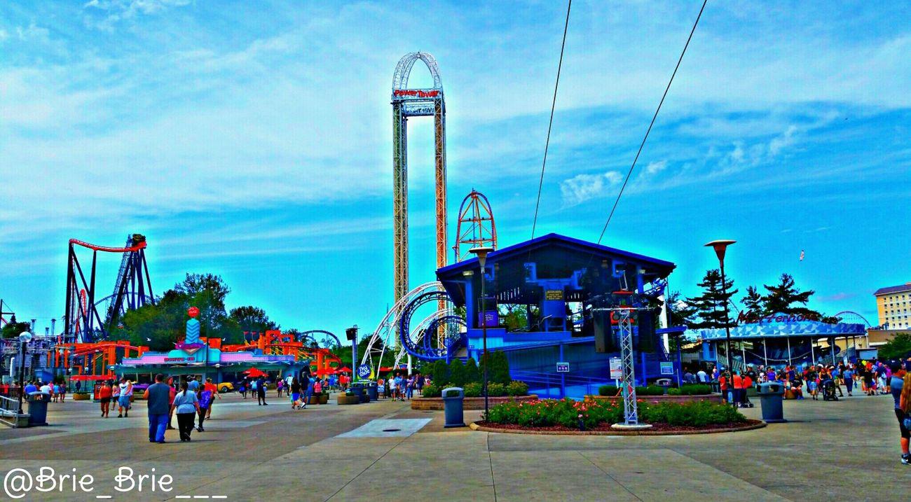 Rides Sunnyday Ohio, USA Summertime LastYear 2015  Mybirthdaysurprise Myview August6 Fun Rollercoasters CedarPoint Amusementpark Instagram: @Brie_brie___