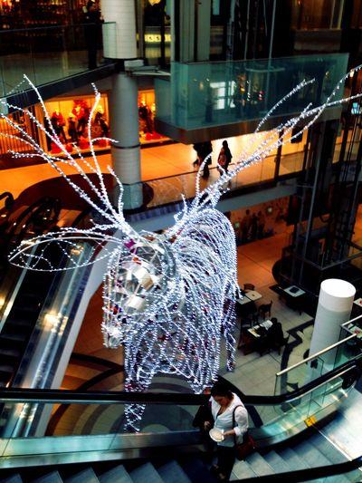 Christmas Shopping at Eaton Centre, Toronto Christmas Shopping