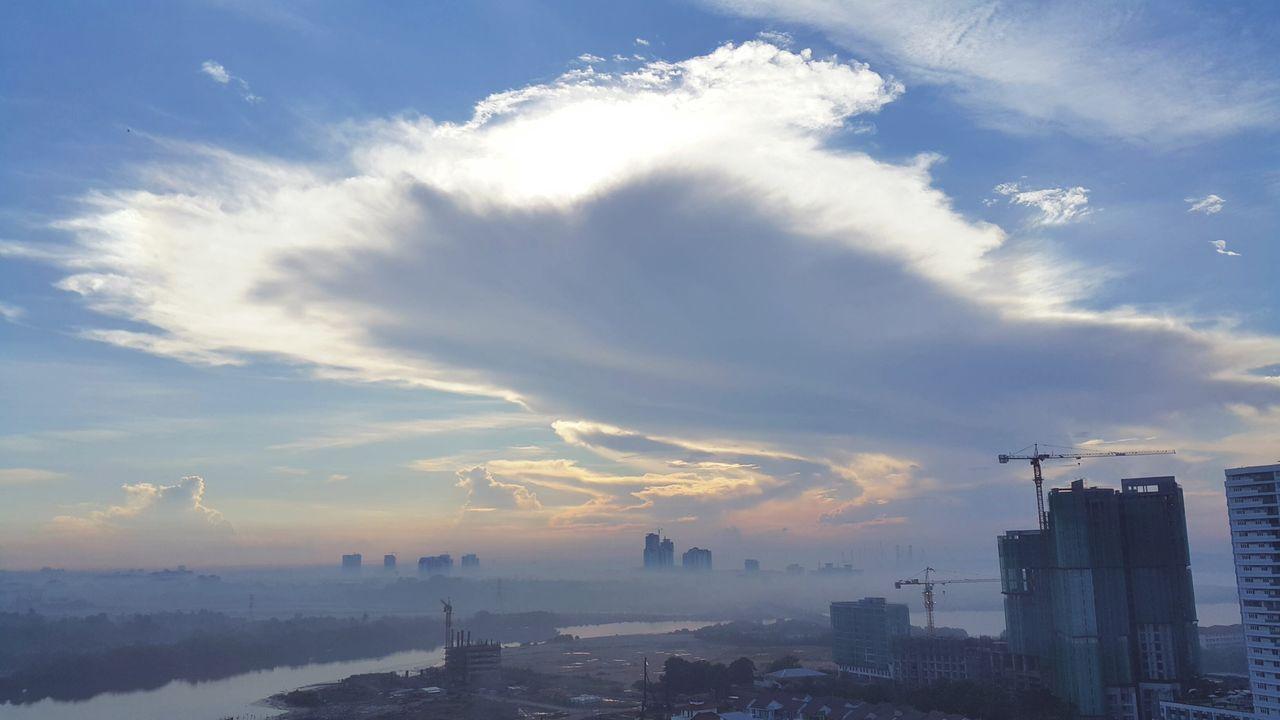 No People Cloud - Sky City Landscape Outdoors Cityscape Sky Day Johor Bahru Malaysia