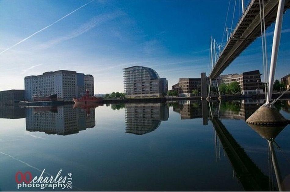Water Reflections sunborn hotel East London docks