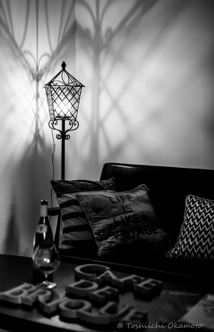indoors, no people, table, book, home interior, pillow, day, close-up