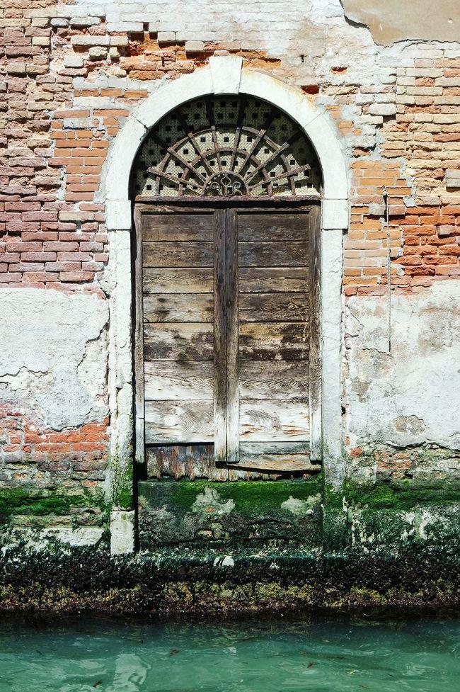 Door in Venice, Italy Doorsworldwide Doorporn Doors Lover Streetphotography Beauty Of Decay Urban Decay Taking Photos Fresh 3 Eye4photography  Open Edit Showcase: January Urban Geometry