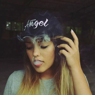 @ns_art Thank You Baby Kiss Smoke Polishgirl Poland London Angel Landroses Girl Beauty Beautiful Damn Like Love