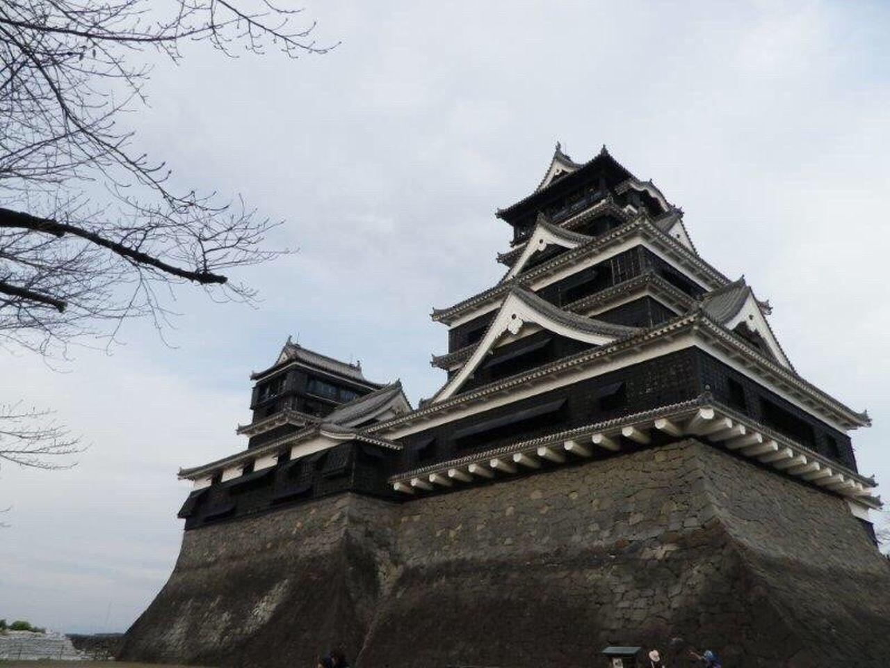 Before be damaged at Kumamoto Castle Kumamoto Earthquake