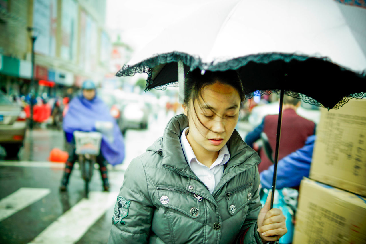 The Street Photographer - 2015 EyeEm Awards Just Around The Corner Random people in the street of China Depth Of Field