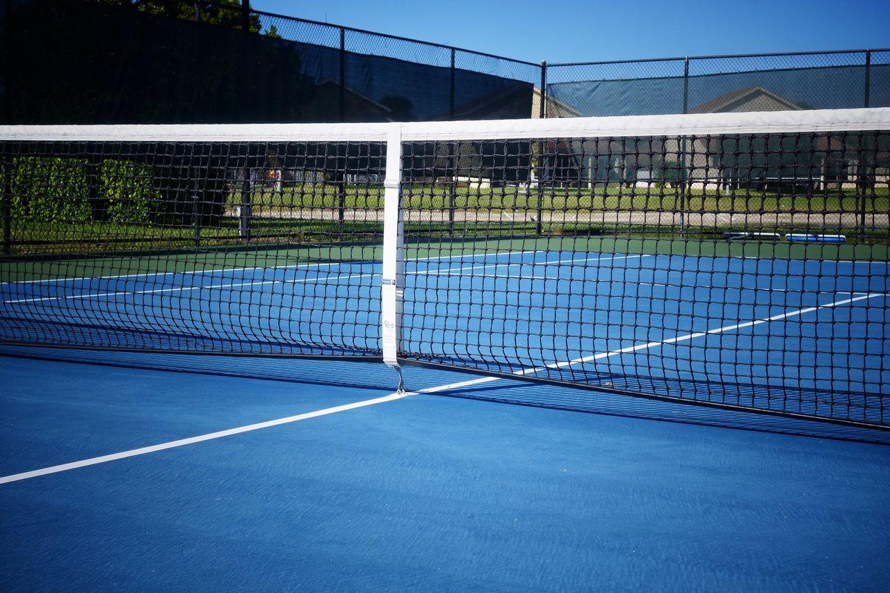 Tennis Sport Net - Sports Equipment Court Tennis Net Tennis Ball Netting Outdoors Yard Line - Sport Day Racket Sport