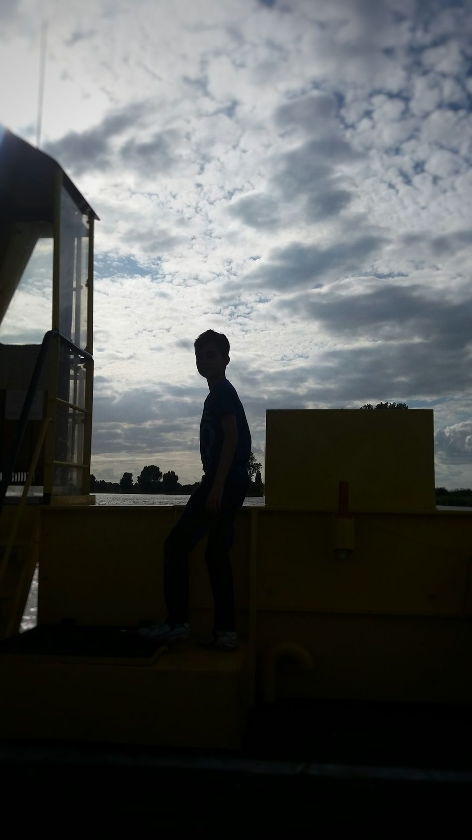 Boat Ride Sky And Clouds Taking Photos Check This Out Pictureoftheday Ilovephotography Hello World ✌ Love <3 Hiiiii ✌ Ferry Boy Thats My Boy  💙💙