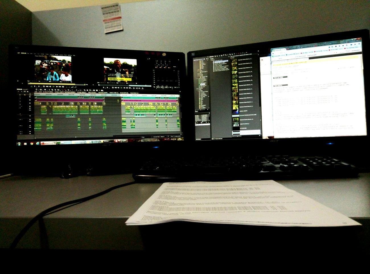 Working Realitatea TV News On TV