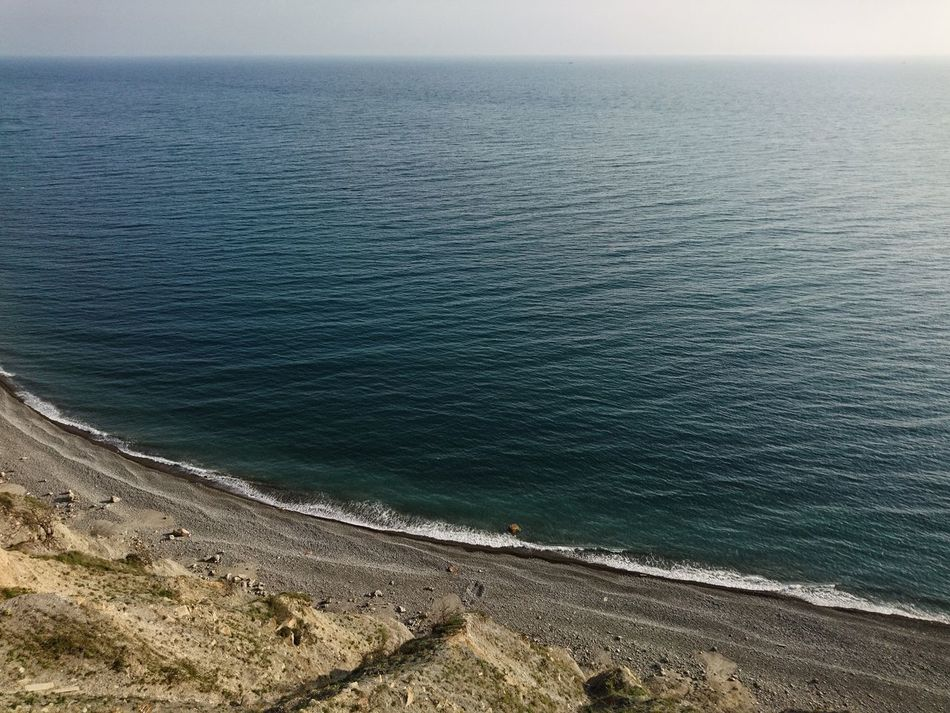 EyeEm EyeEm Gallery EyeEm Best Shots Water Nature Sea High Angle View Outdoors Day Tranquility Beach Beauty In Nature Tranquil Scene Scenics No People Salt - Mineral Sky