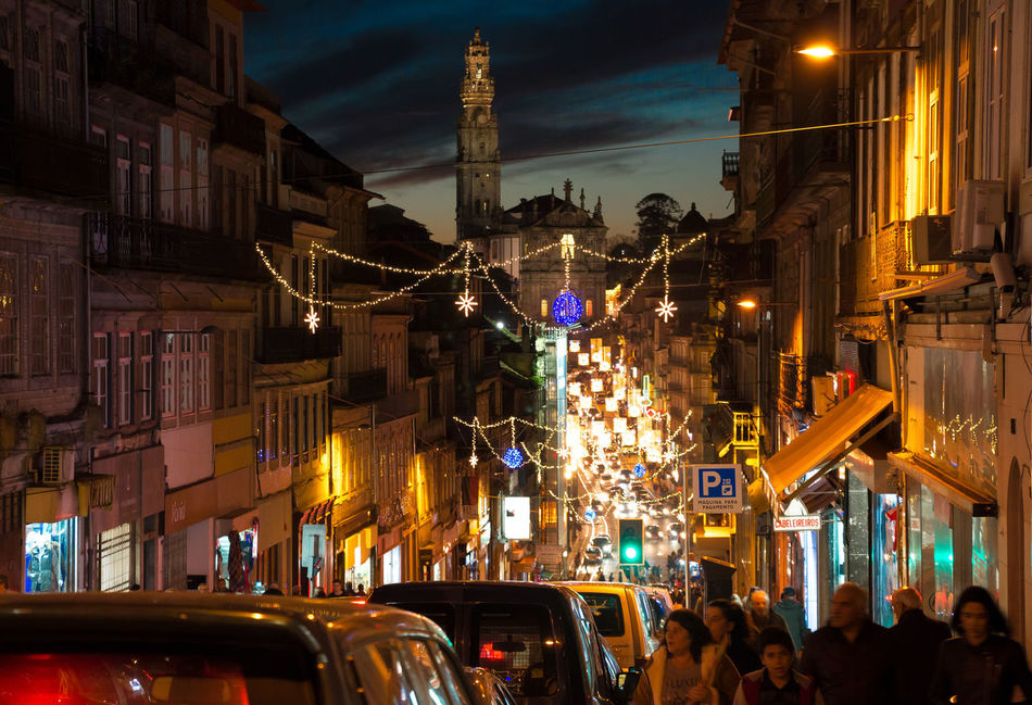 Porto II Attraction Canon Canon70d Christmaslights Christmasspirit Christmastime City City Life Cityscape Decoration Destination Europa Europe Holiday Landscape Light Night Streetphotography Tourism Tourists Travel Travelling Vacation Vacations Xmas