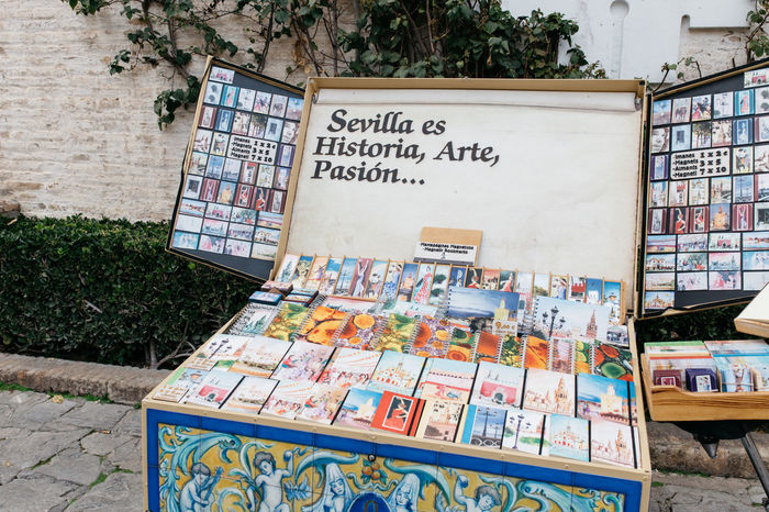 Sevilla es Historia, Arte, Pasión... Books Business Finance And Industry Day Libro Multi Colored No People Outdoors Sevilla Sevillahoy Seville Variation