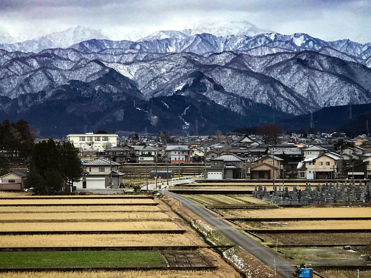 Building Exterior Mountain Built Structure Architecture Mountain Range Outdoors Day No People Sky Nature Tree Japan Style Toyama Focus On Foreground Japan Transparent