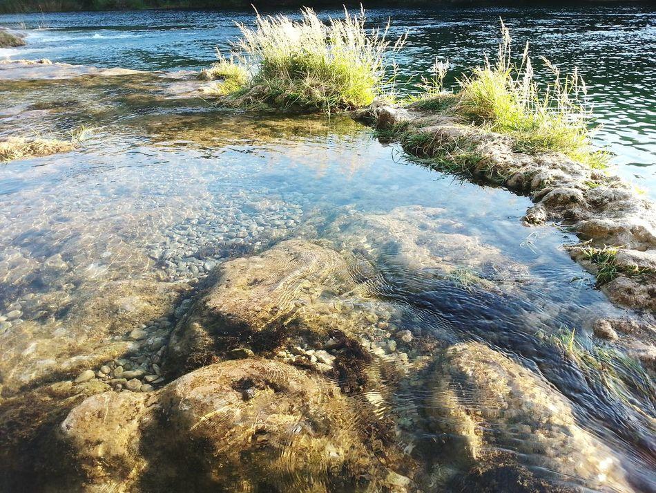 Cristalclear Perfection River Nature Water Beautifulcroatia Zrmanja Riverside Riverview Water Reflections Green Rocks Cristalclearwater