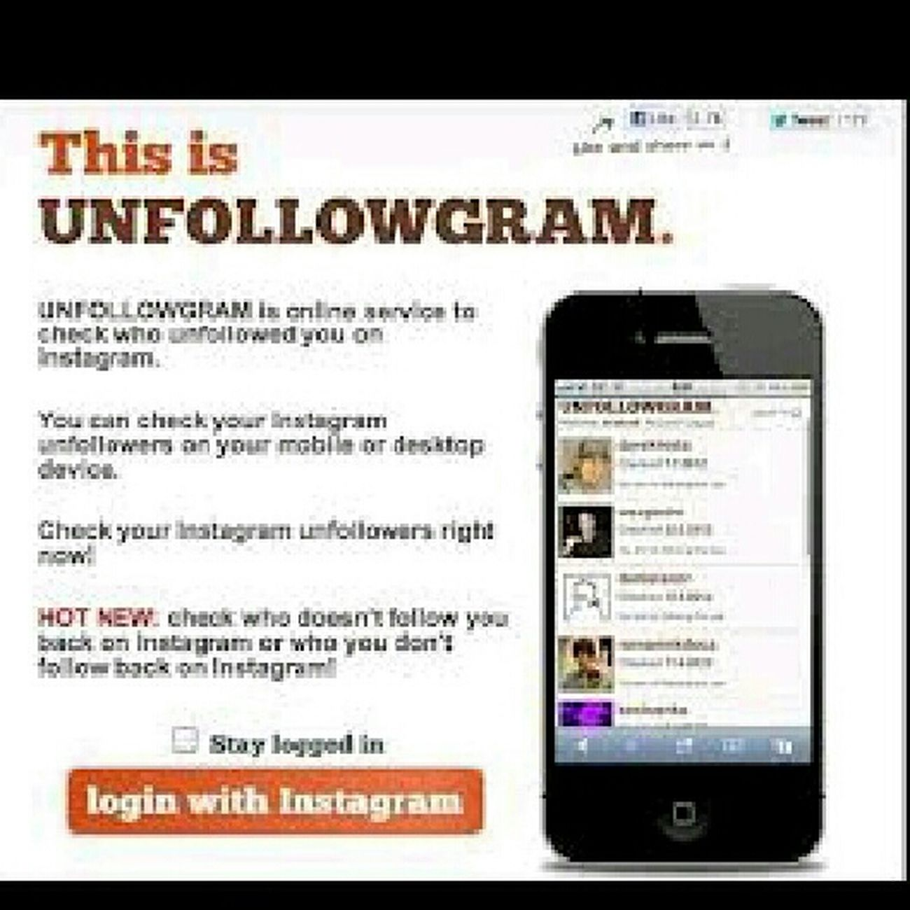 Follow Back On Instagram Or Get Unfollowed