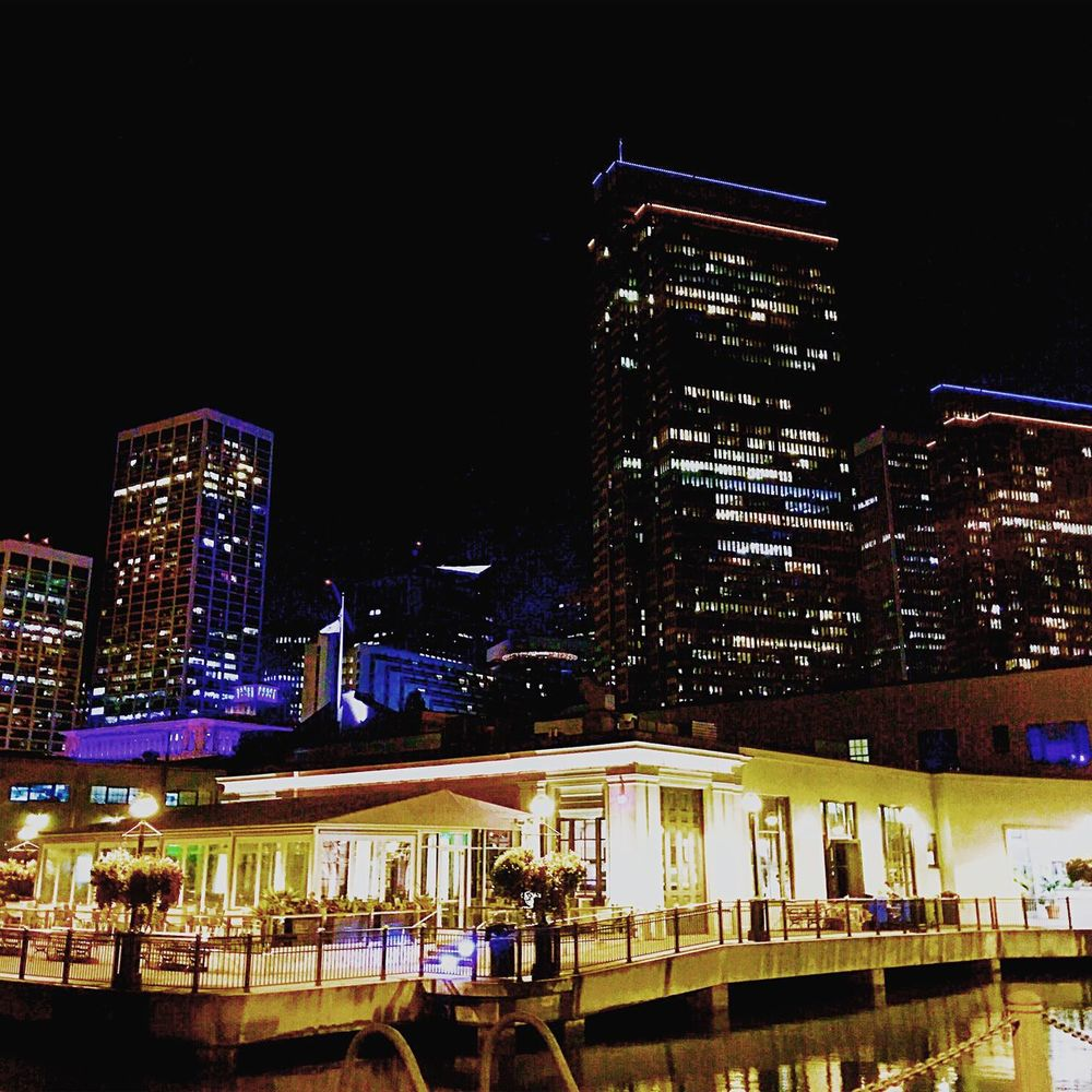 San Francisco Embarcadero Citylights Cityscapes IPhoneography Nightlife